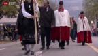 Video «Neuer Nationalratspräsident wird gefeiert» abspielen