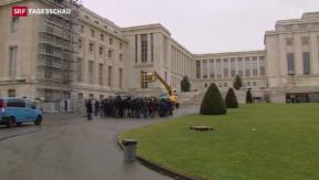Video «Zweite Runde der Syrien-Friedensgespräche in Genf» abspielen