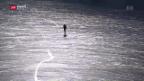 Video «Der «Lago Bianco» strahlt in Schwarz» abspielen