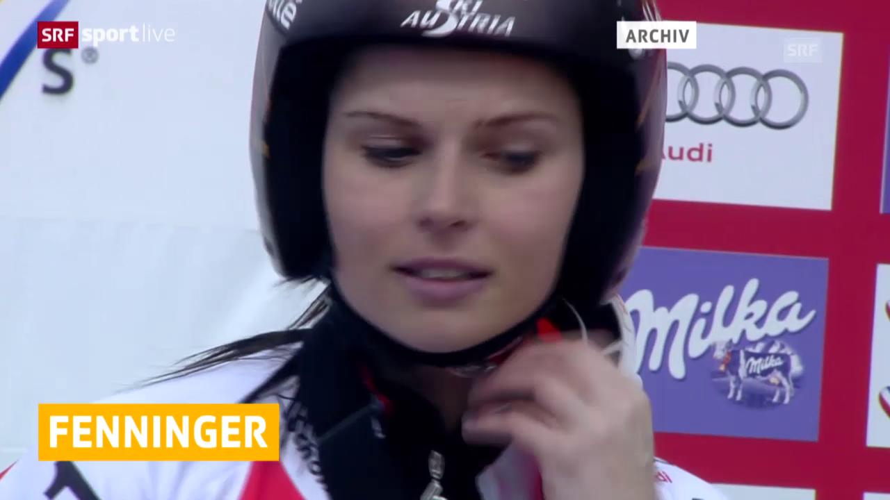 Ski: Saisonende für Fenninger nach Sturz