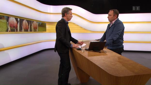 Video «Studiogespräch mit Markus Gerber von Swissherdbooks» abspielen