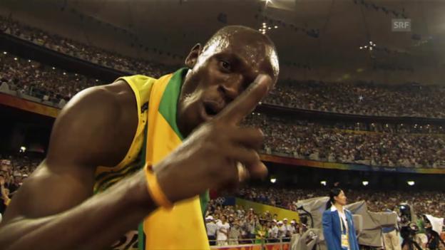 Video «Rückblick mit Gänsehaut: Bolts bisherige Gold-Flut» abspielen