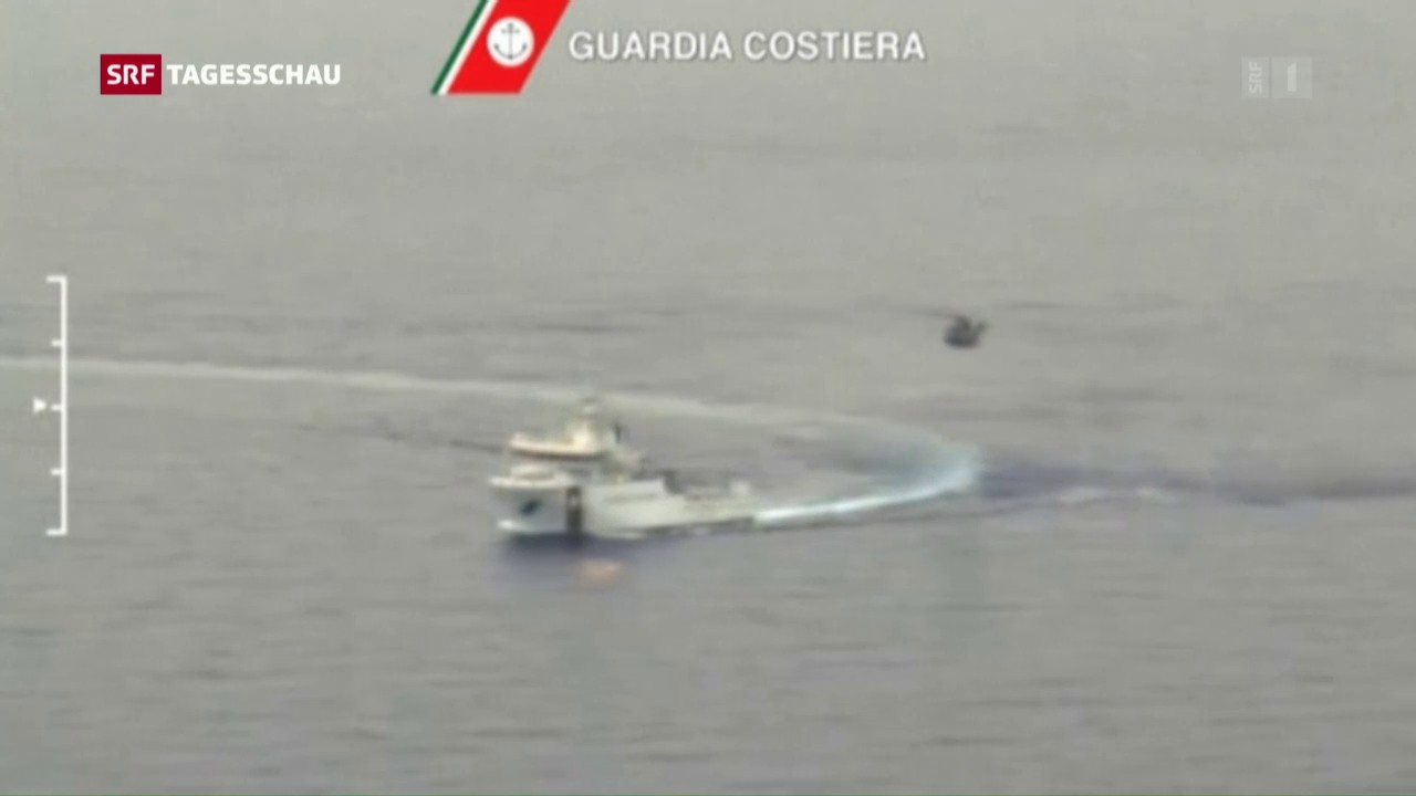 Bootsunglück im Mittelmeer