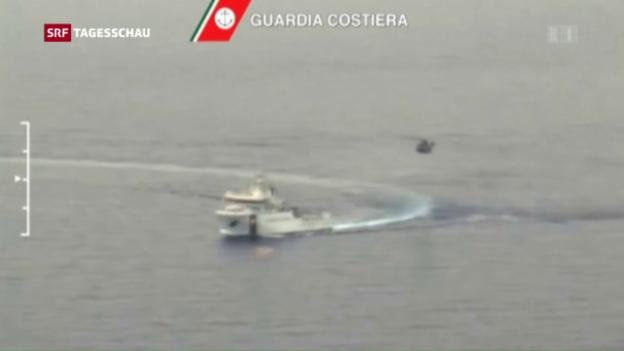 Video «Bootsunglück im Mittelmeer» abspielen