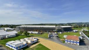 Video «ESAF-Arena in Zug: Die Entstehung im Zeitraffer» abspielen