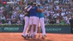 Video «Tennis: Davis Cup, Frankreich im Final» abspielen