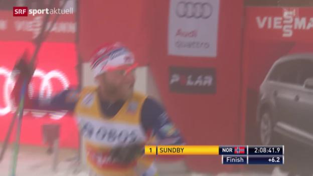 Video «Sundby siegt am Holmenkollen» abspielen