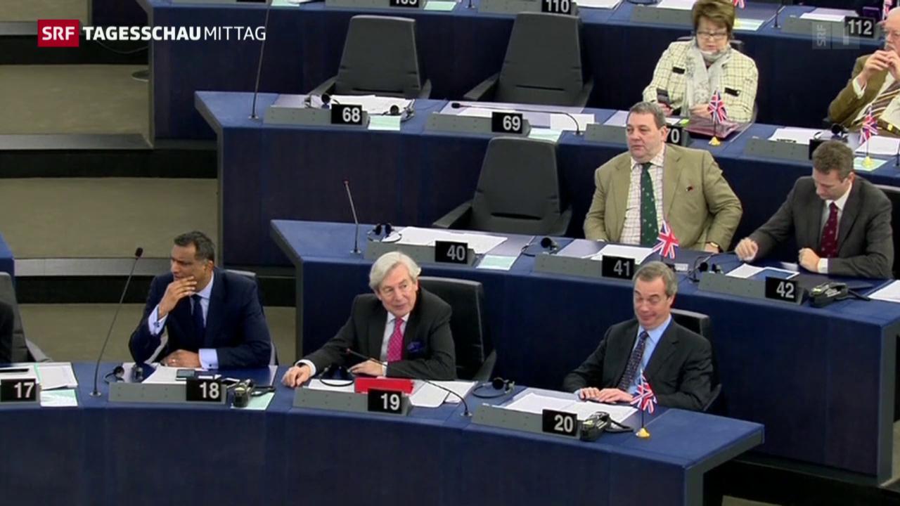 EU-Parlamentarier kritisieren Zugeständnisse