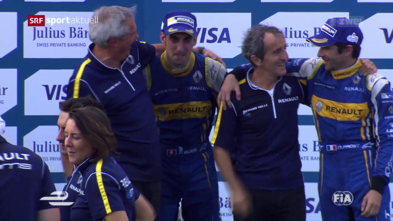 Sebastien Buemi nach Krimi Formel-E-Weltmeister