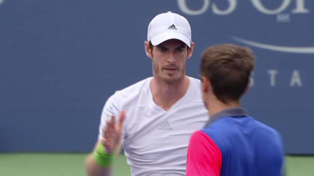 Video «Tennis: Matchball Murray - Kuznetsow» abspielen