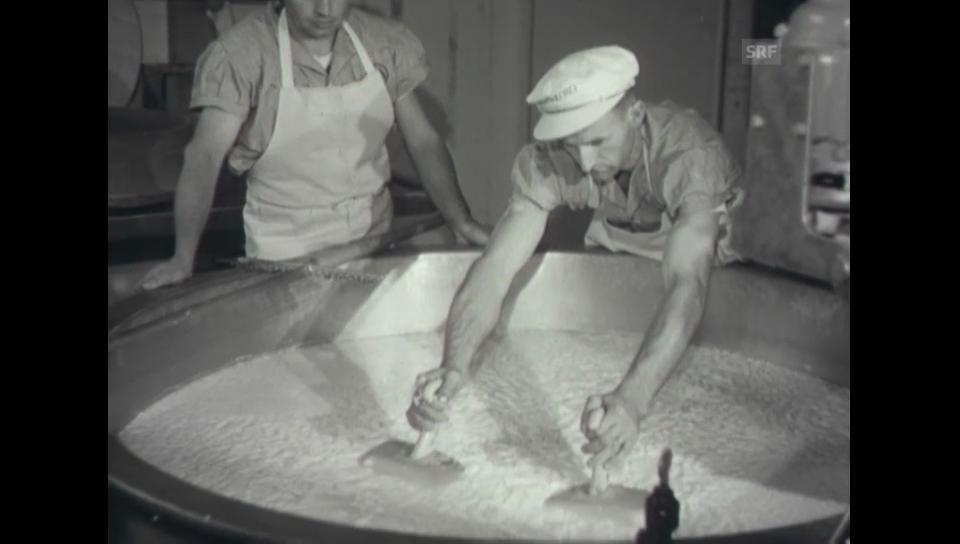Ausstellungseröffnung - Olma 1952 (Schweizer Filmwochenschau)