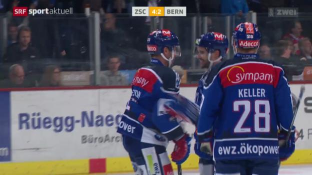 Video «Eishockey: NLA, ZSC Lions - SC Bern» abspielen
