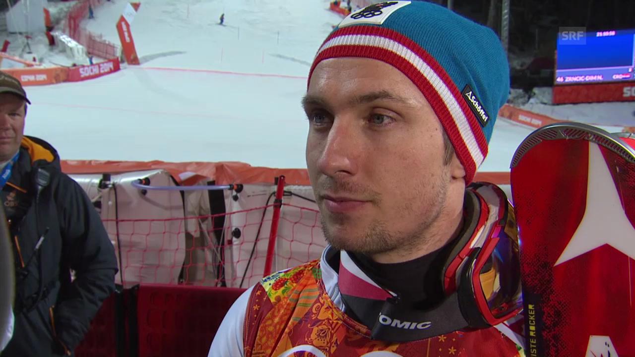 Ski: Interview mit Marcel Hirscher (sotschi direkt, 22.02.2014)
