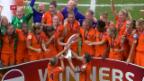 Video «EM-Gold: Die Niederlande waren nicht mehr zu bremsen» abspielen