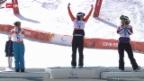 Video «Snowboard: Die Medaillen-Gewinner bei den Boardern» abspielen