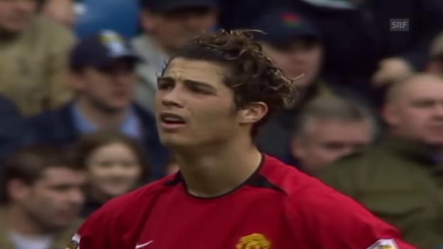 Video «Blutjunger Ronaldo im Pech (15.3.2004)» abspielen