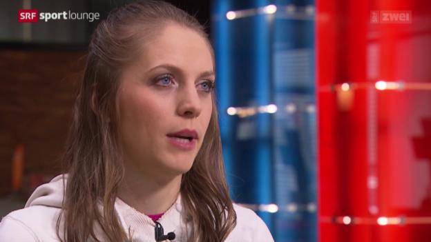 Video «Sturz in den Rollstuhl – Stabhochspringerin Kira Grünberg erzählt» abspielen