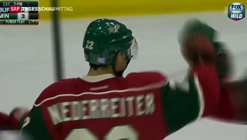 Niederreiter brilliert in der NHL