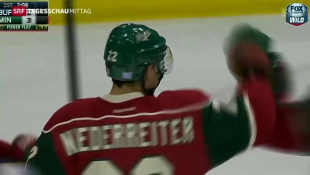 Video «Niederreiter brilliert in der NHL» abspielen