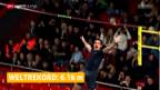 Video «Stabhochsprung: Weltrekordsprung von Renaud Lavillenie» abspielen