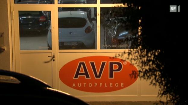 Video «Garagist auf Spritztour mit Kundenauto» abspielen