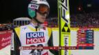 Video «Skispringen: Nordisch-WM Falun, Grossschanze, 2. Sprung von Gregor Deschwanden» abspielen