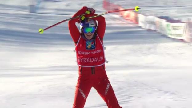 Video «Skicross: WM-Final Frauen» abspielen
