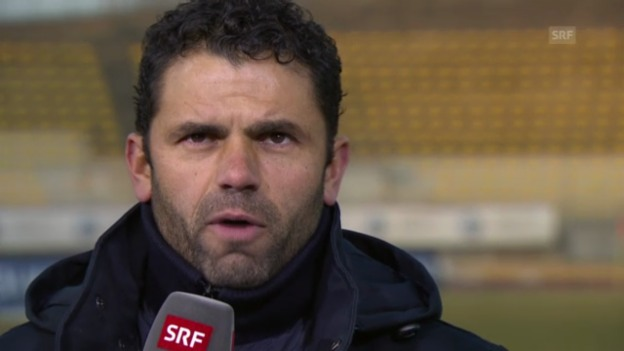Video «Fussball: Interview mit GC-Coach Uli Forte» abspielen