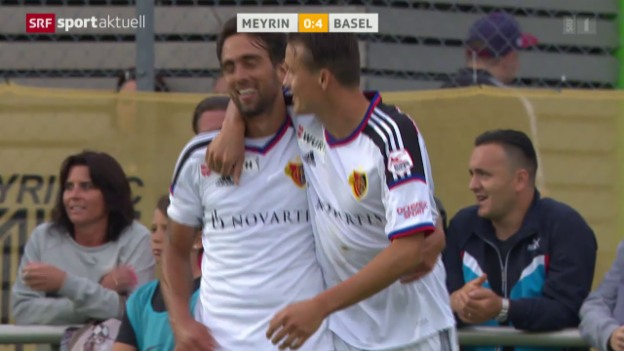 Video «Fussball: Cup, Delgado trifft gegen Meyrin» abspielen