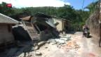 Video «Tote bei Erdbeben in Lombok» abspielen