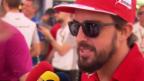 Video «Formel 1: Fernando Alonso über seinen Abschied von Ferrari» abspielen