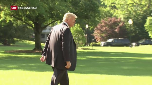 Video «Trump bat Ex-FBI-Chef um Einstellung der Russland-Verfahren» abspielen