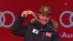 Video «Ski: WM Vail/Beaver Creek, Siegerehrung Super-Kombination Männer» abspielen