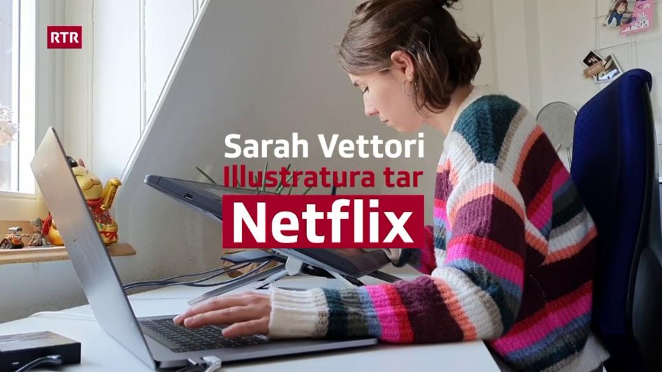 Sarah Vettori - Da Cuira tar Netflix