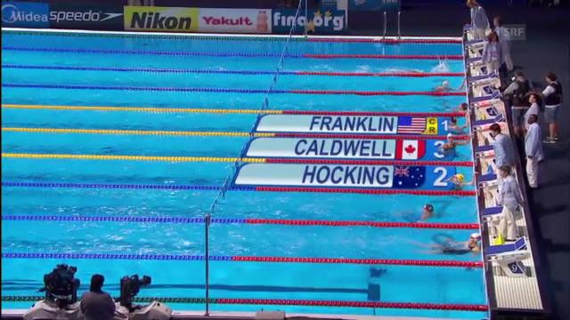 Missy Franklins Sieg über 200 Meter Rücken
