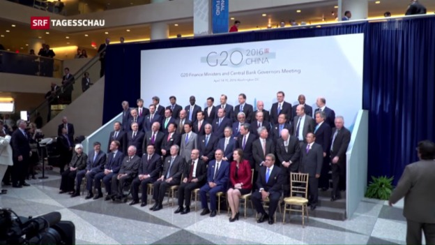 Video «G20-Finanzminister beraten sich nach Panama-Papers» abspielen