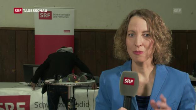 Video «Natascha Schwyn über den SP-Sitzgewinn» abspielen