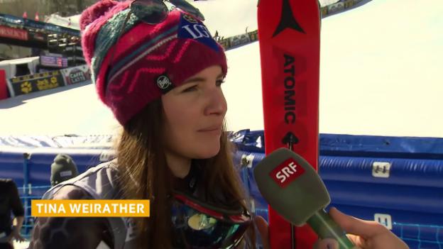 Video «Weirather: «Das Grösste, was man erreichen kann»» abspielen