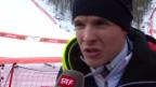 Video «Sotschi: Ski, Abfahrt Männer, Interview Innerhofer» abspielen