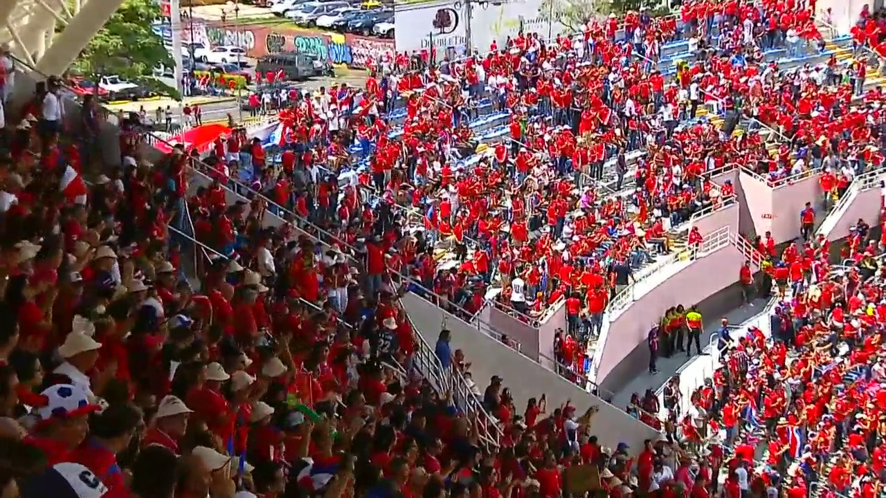 Euphorie in Costa Rica nach 3:0-Sieg