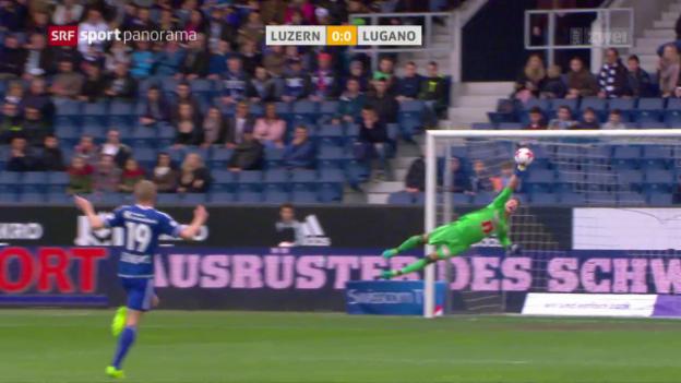 Video «Luzern kassiert Heimniederlage gegen Lugano» abspielen