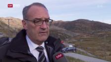 Video «Bundesrat Guy Parmelin zum Absturz» abspielen