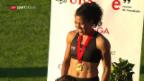 Video «Kambundji und Wilson sind die Sprintstars der Schweiz» abspielen