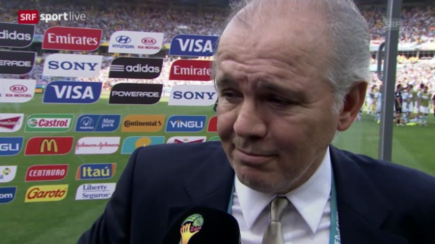Video «Argentinien - Iran: Interview mit Alejandro Sabella» abspielen