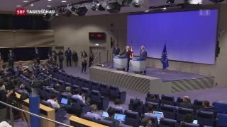 Video «Brexit: Schon wieder kein Fortschritt» abspielen