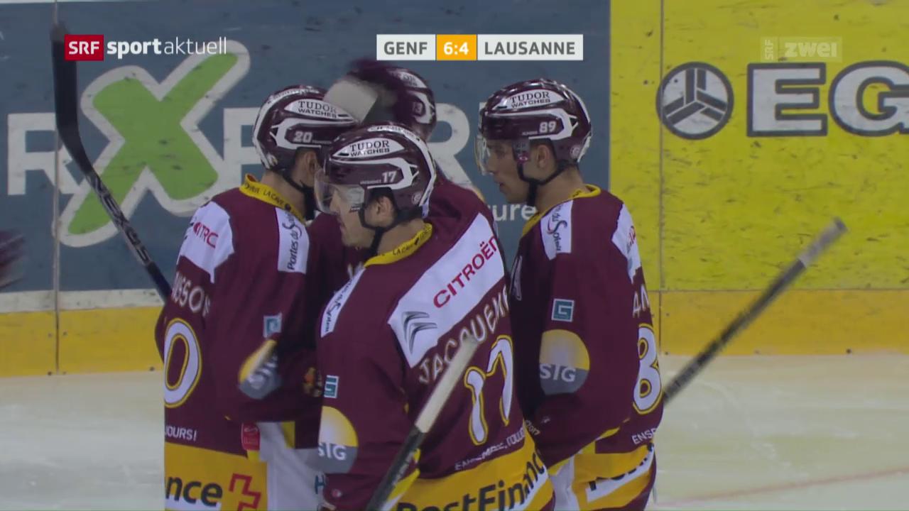 Genf mit Heimsieg gegen Lausanne