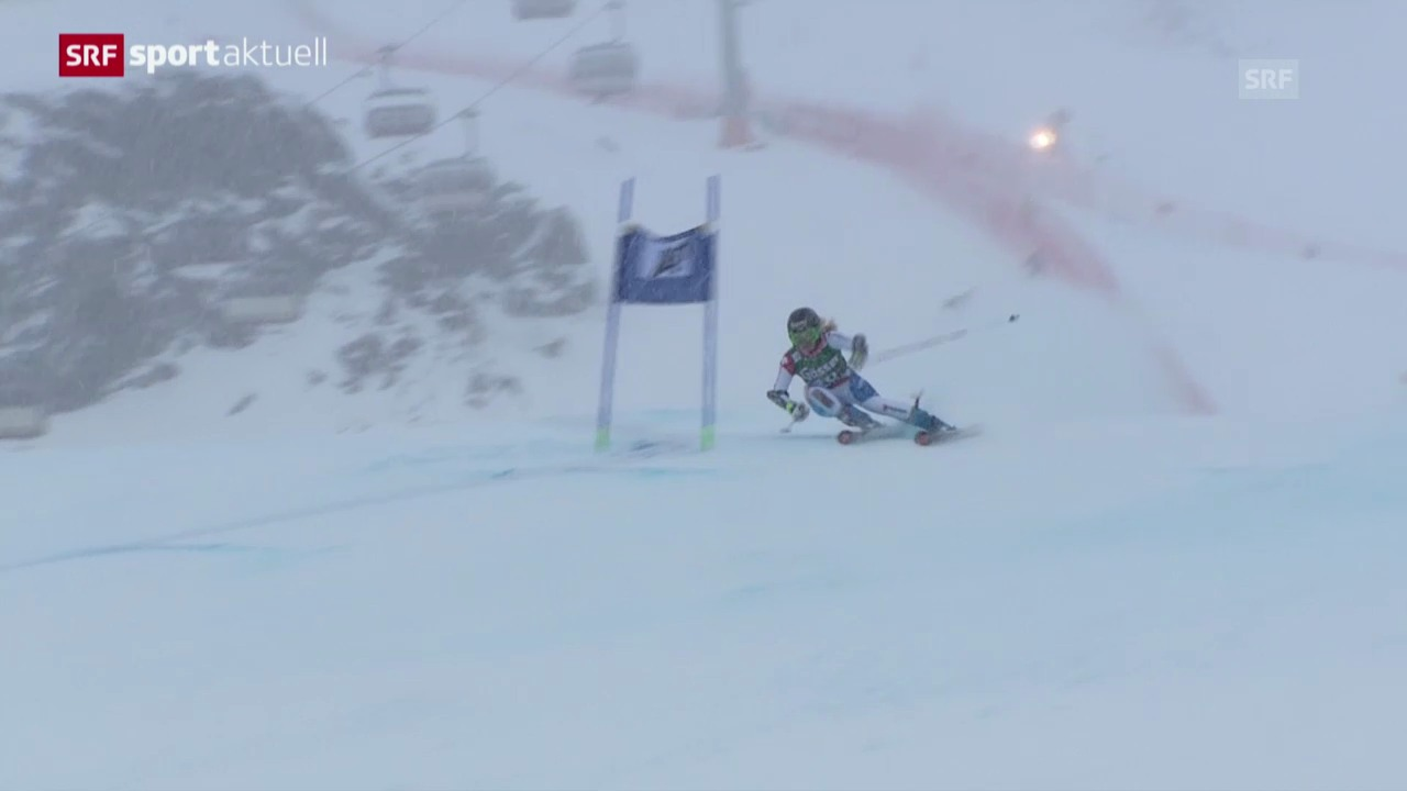 Ski: Riesenslalom Frauen in Kühtai («sportaktuell»)