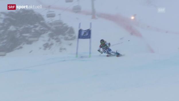 Video «Ski: Riesenslalom Frauen in Kühtai («sportaktuell»)» abspielen