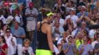 Video «Tennis: Bencic nach ihrem grössten Triumph» abspielen
