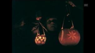 Video «Räbeliechtliumzug (1984)» abspielen